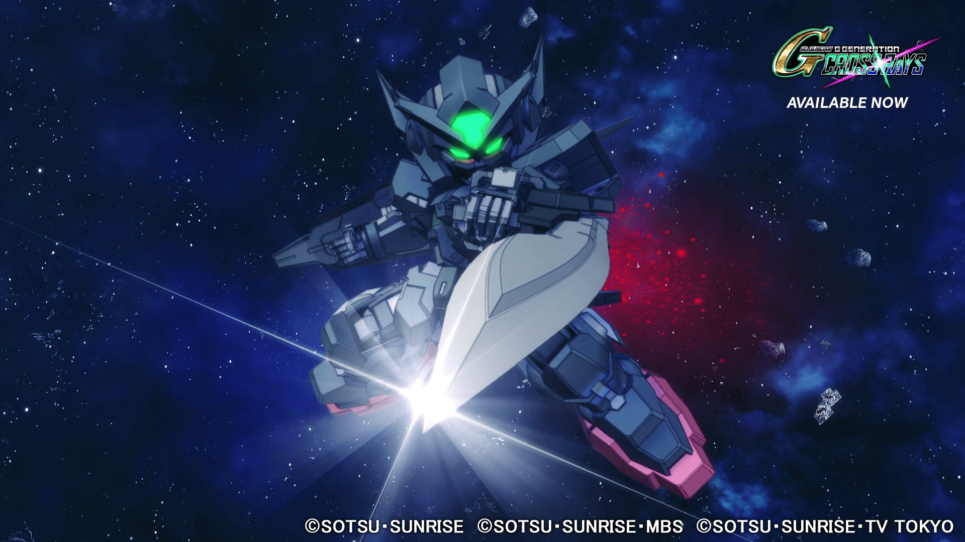 SD Gundam G Generation Cross Ray Update Version 1.2.1