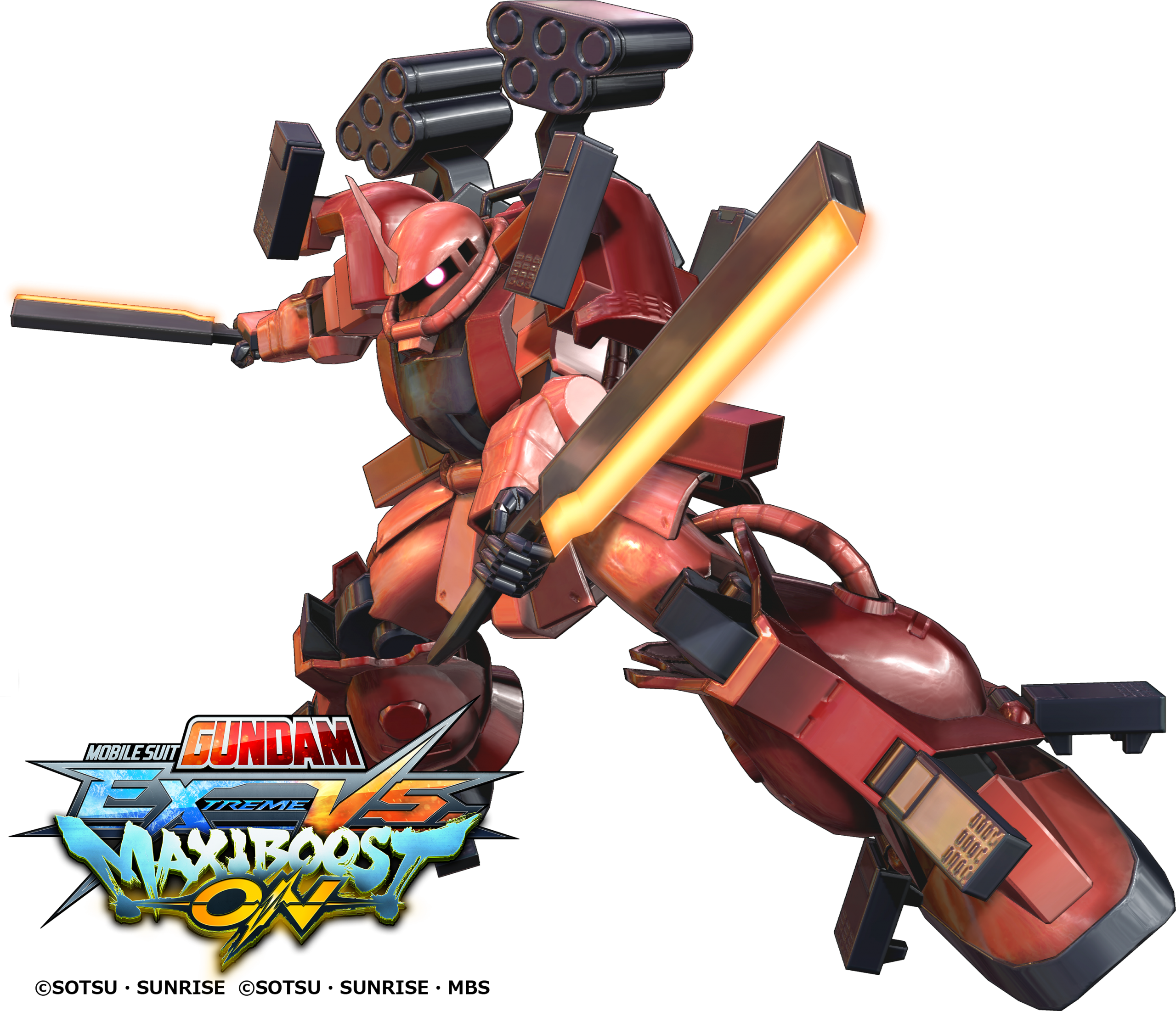 "ICONIC GUNPLA FIGHTER ""ZAKU AMAZING"" AND TWO NEW MECHA COMING TO MOBILE SUIT GUNDAM EXTREME VS. MAXIBOOST ON"