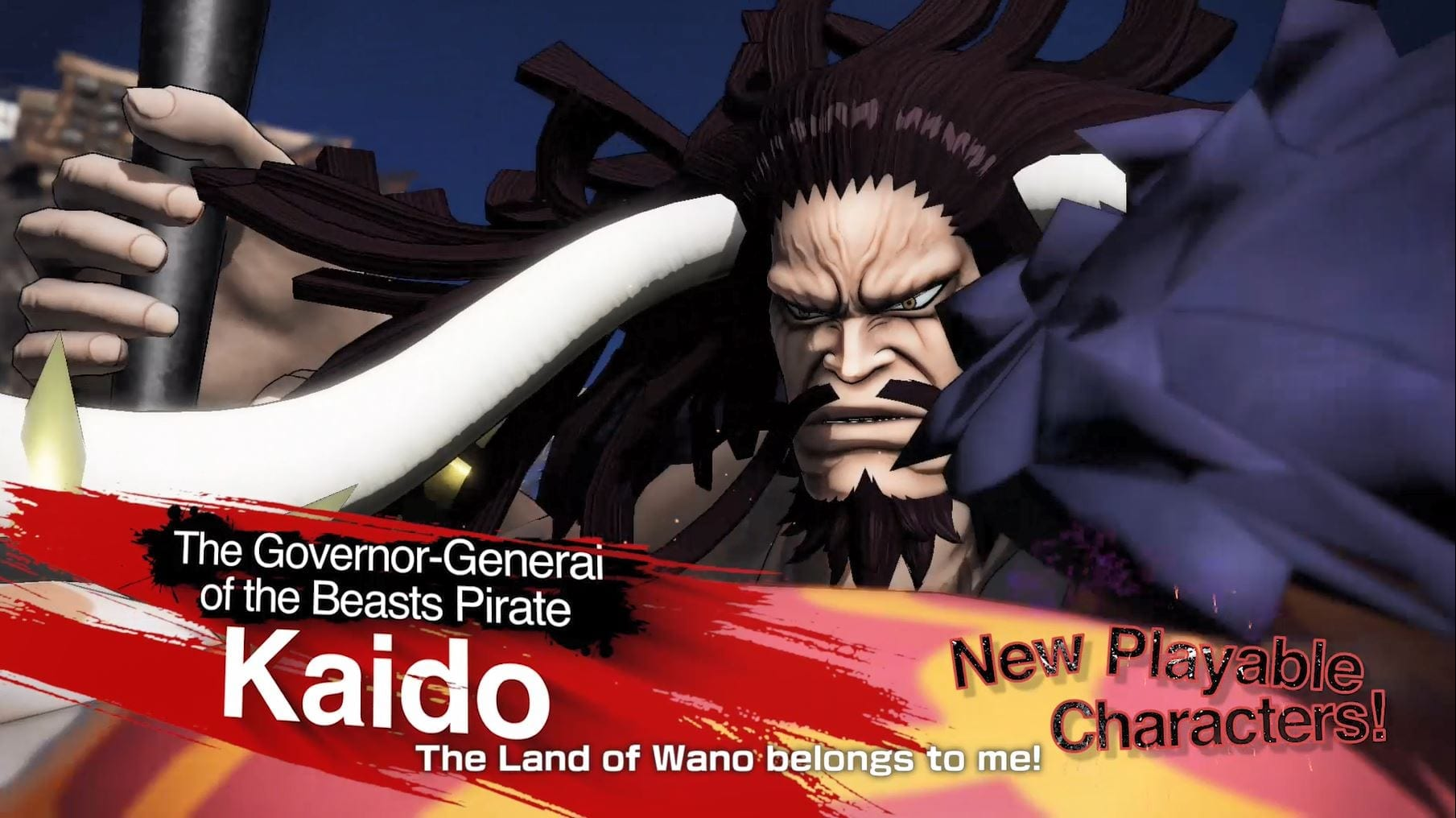 Big Mom & Kaido joins ONE PIECE Pirate Warriors 4 as playable characters in the game!