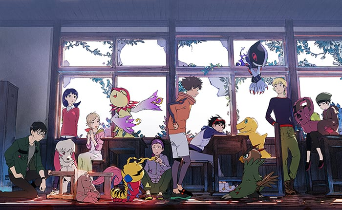 DIGIMON SURVIVE CHARACTER ROSTER!