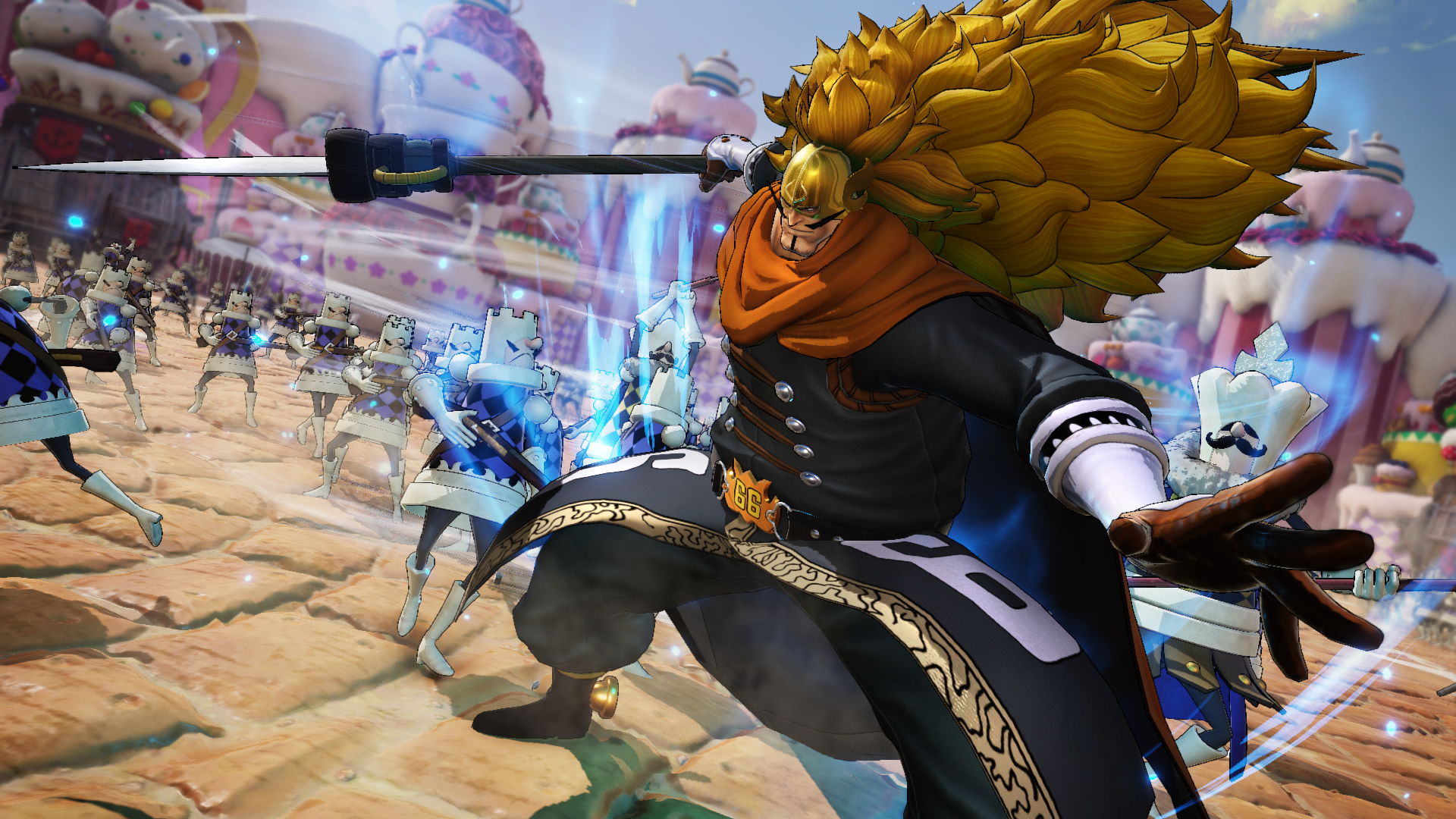Vinsmoke Judge to complete the first Character Pack of ONE PIECE PIRATE WARRIORS 4!