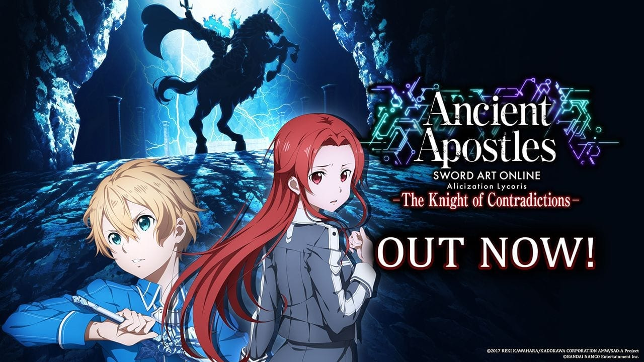 "SWORD ART ONLINE Alicization Lycoris — Free Story Update Part #2 ""Ancient Apostles: The Knight of Contradictions"""